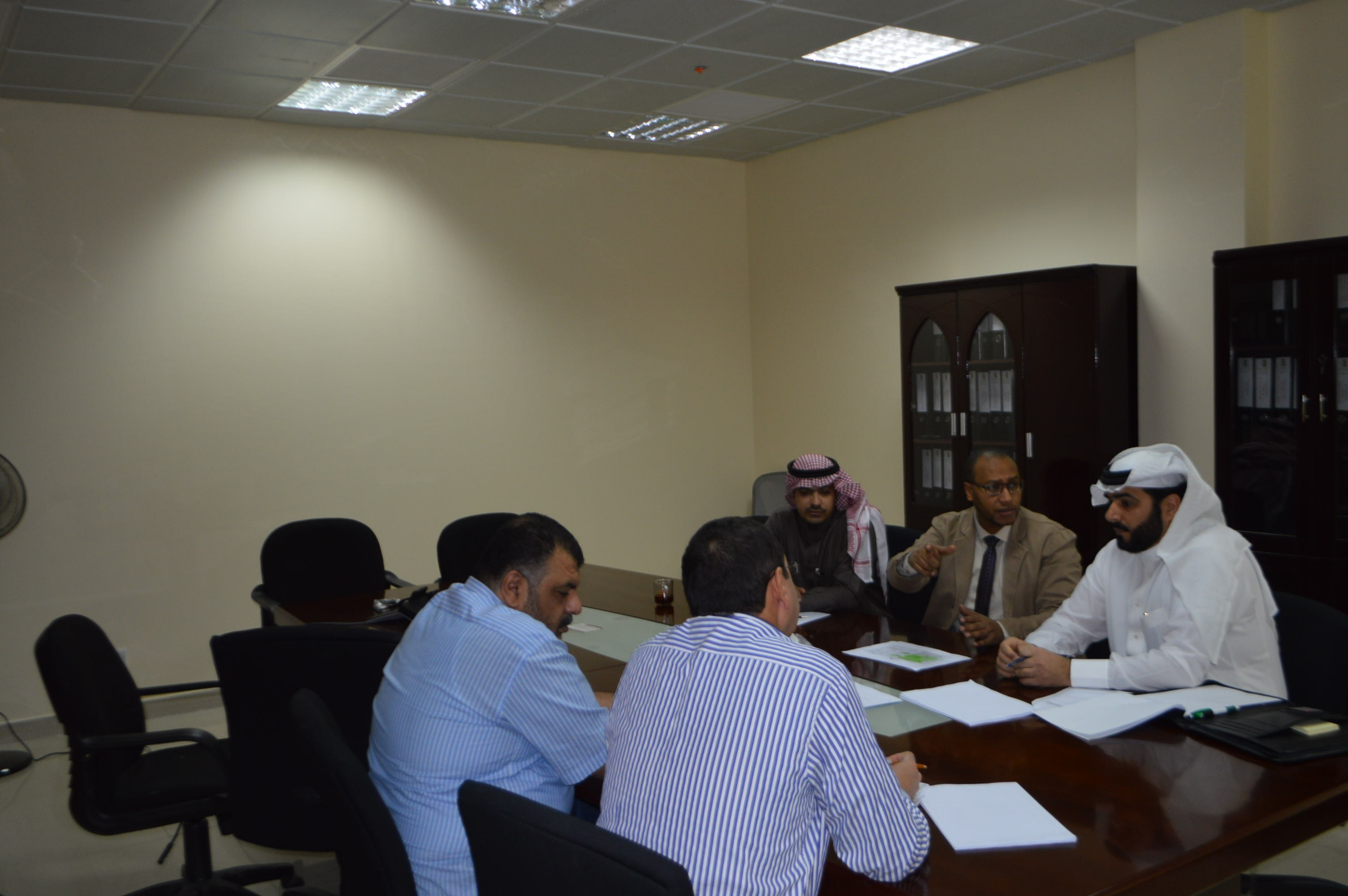 The Strategic Plan Committee Hold its Meeting to Discuss the Preliminary Proposed Strategic Plan at the Deanship of Quality and Academic Accreditation During 1439-1444