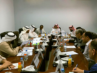 The 4th Faculty Board Council Meeting, College of Medicine, Jouf University for the academic year 1438-1439