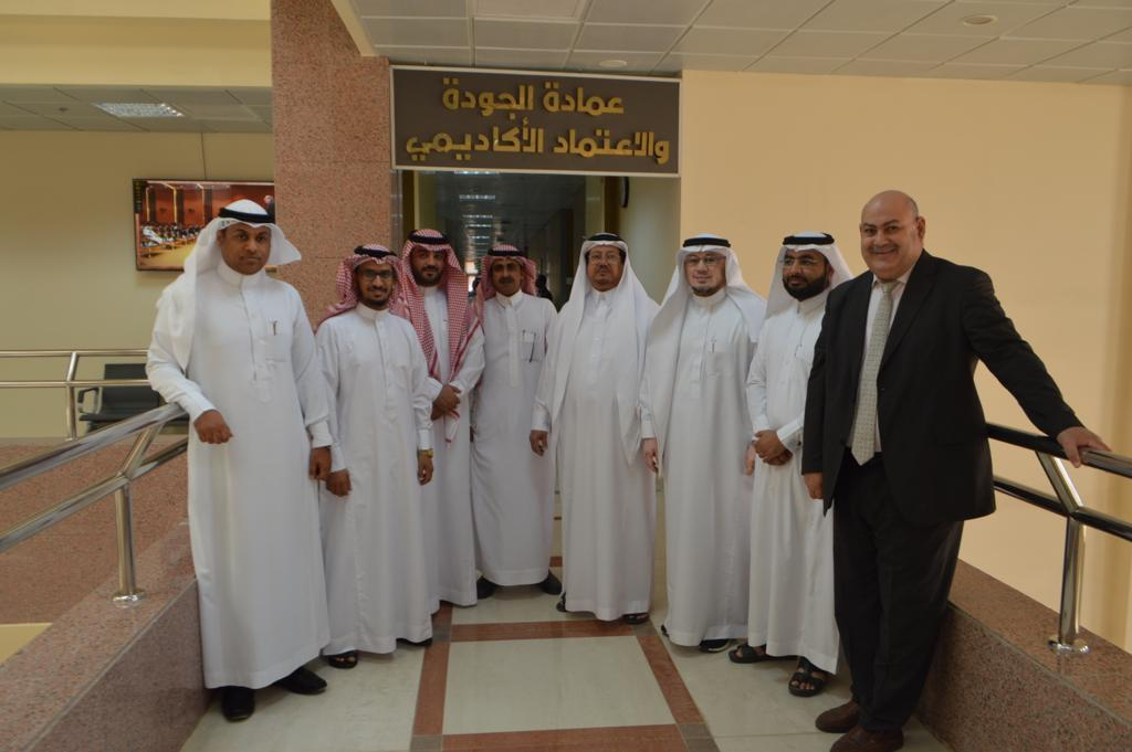 JOUF UNIVERSITY SEEKS TO ACHIEVE THE REQUIREMENTS OF THE INTERNATIONAL PROGRAM ACCREDITATION OF ABET
