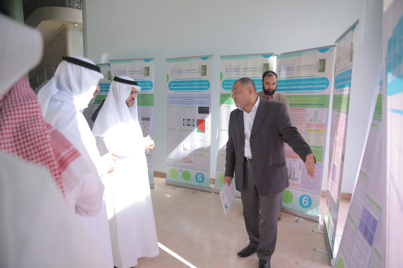The sixth annual meeting of scientific research and publishing was held under supervision and sponsorship of Jouf university rector.