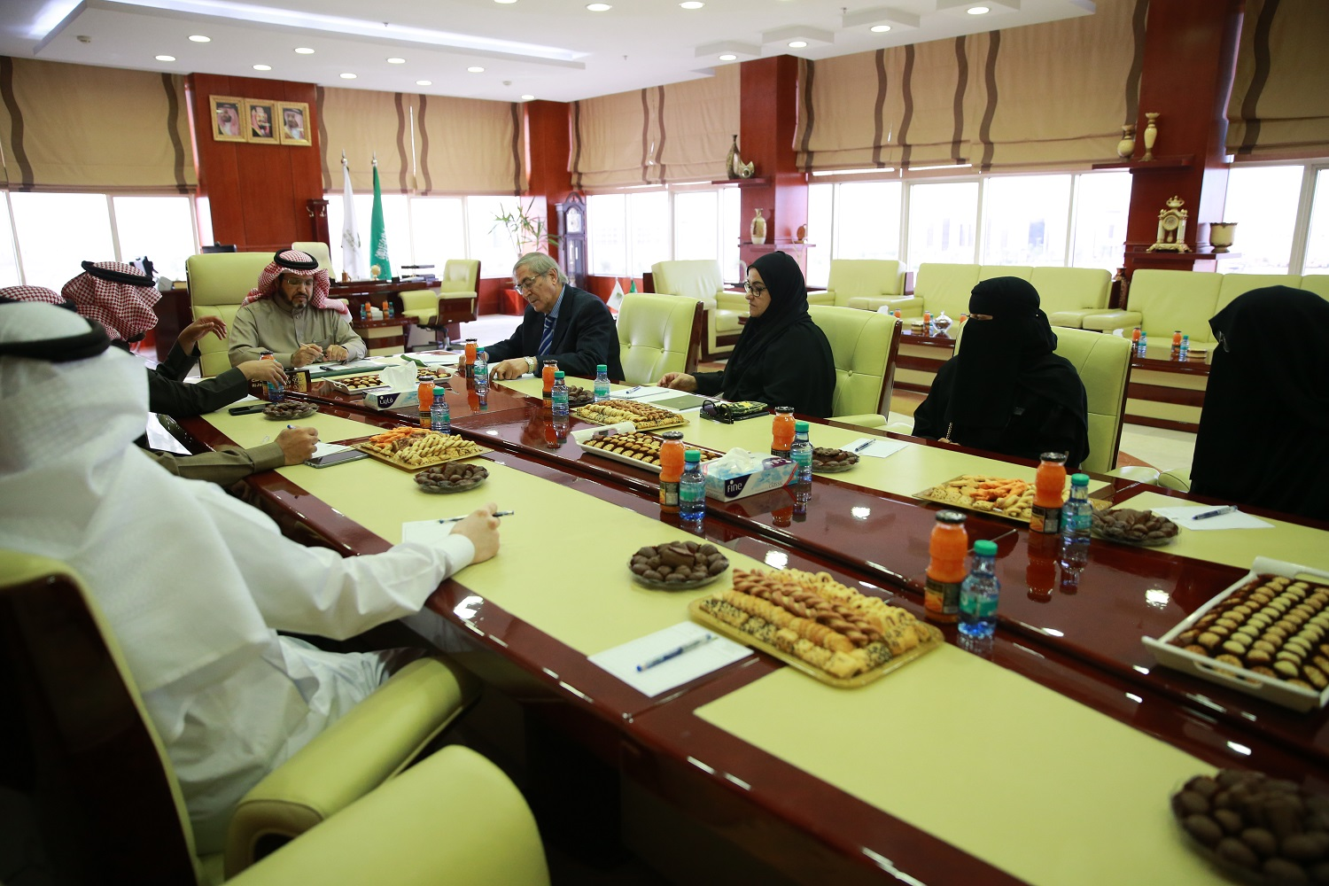 Advisors Team of the National Center for Academic Accreditation and Assessment Visits University to Verify Its Fulfillment of Requirements Qualifying for Institutional Accreditation