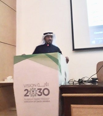 The College of Applied Medical Sciences holds a training workshop on Blackboard